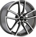 """GMP DEDICATED GMP Baden S310 Mat Anthracite Polished 18""""(EW431502)"""