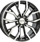 "Monaco Grandprix 5 Black & Polished 18""(EW420087)"