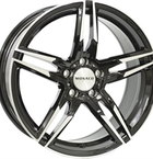"Monaco Grandprix Gloss Black & Polished 17""(EW428890)"