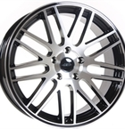 "TEC by ASA Gt1 Black Glossy - Polished 19""(EW368033)"