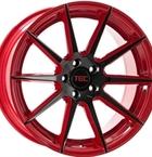 "TEC by ASA Gt7 Black - Red 19""(EW412063)"