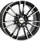 "Monaco MC8 Gloss Black & Polished 18""(EW428818)"