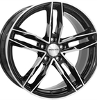 "Monaco Rr8m Gloss Black & Polished 17""(EW428828)"