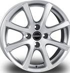 "Borbet LV4 Silver 14""(496464)"