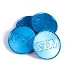3SDM CNC centerkapsel blå(3CapR)