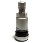 Sølv metal skrueventil X1(261)