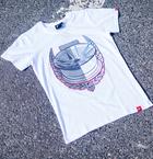 Japan Racing - T-Shirt JR21 Hvid (S) Mænd()
