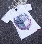 Japan Racing - T-Shirt JR21 Hvid (XS) Kvinder()