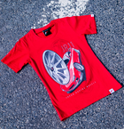 Japan Racing - T-Shirt JR11 Rød (XS) Kvinder()