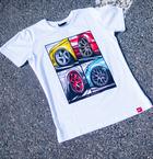 Japan Racing - T-Shirt Hvid (S) Mænd()