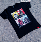 Japan Racing - T-Shirt Sort (2XL) Mænd()