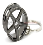 Mercedes nøglering antracit(MB nøglering 1)