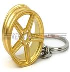 Mercedes nøglering guld(MB nøglering 3)