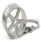 Mercedes nøglering sølv(MB nøglering 2)