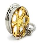 RAD48 nøglering guld(R48 nøglering 2)