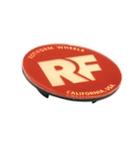 Rotiform RF Centerkapsel Rød Med Guld RF(32170RG)