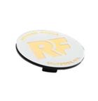 Rotiform RF Centerkapsel Hvid Med Guld RF(32170WG)