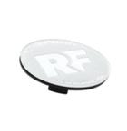 Rotiform RF Centerkapsel Hvid Med Sølv RF(32170WC)