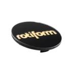 Rotiform Centerkapsel Sort Med Guld Rotiform(32170BGS)