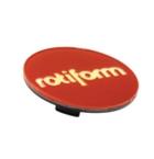 Rotiform Centerkapsel Rød Med Guld Rotiform(32170RGS)