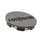 Rotiform Centerkapsel Antrasit Med Sort Rotiform(1003-40VBL)