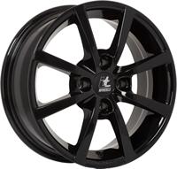 "It wheels Alisia Gloss Black 15"""