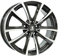 "It wheels Elena Black - Polished 18"""