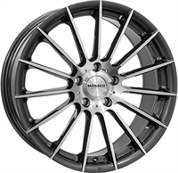 Monaco Formula Anthracite Polished 17""
