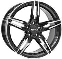 Monaco Grandprix 1 Black & Polished 17""