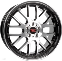 """TEC by ASA Gt-Ar1 Black - Polished 17"""""""