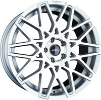"ASA GT4 Silver & Pol. 18"""