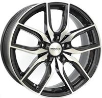 "Monaco MC11 Gloss Black & Polished 18"""