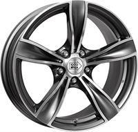 """1000 Miglia MM033 Anthracite Polished 17"""""""