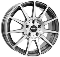 Monaco Rallye Anthracite & Polished 17""
