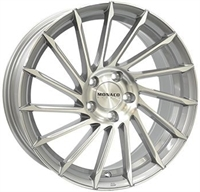Monaco Turbine Mc Light Gray Pol. 18""