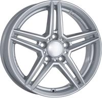 """Rial UniWheels M10 Polar Silver 16"""""""
