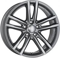 """Rial UniWheels X10x Metal Grey 18"""""""