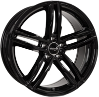 Wheelworld Wh11 Black Glossy 17""