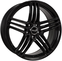 Wheelworld Wh12 Black Glossy 17""