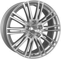 Wheelworld Wh18 Race Silver 18""