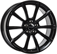 Wheelworld Wh28 Black Glossy 17""