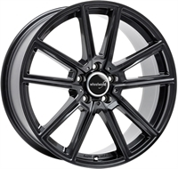 Wheelworld Wh30 Black Glossy 17""