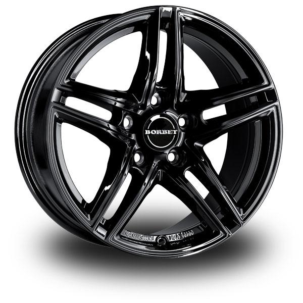 "Borbet XR Black 16"""