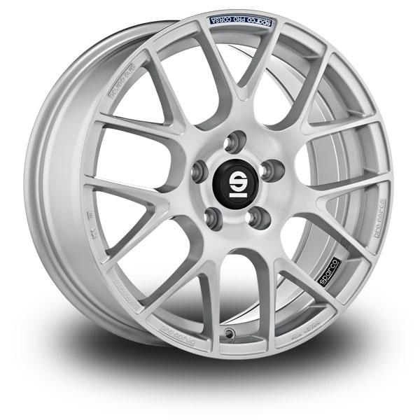 """Sparco Pro Corsa Silver 17"""""""