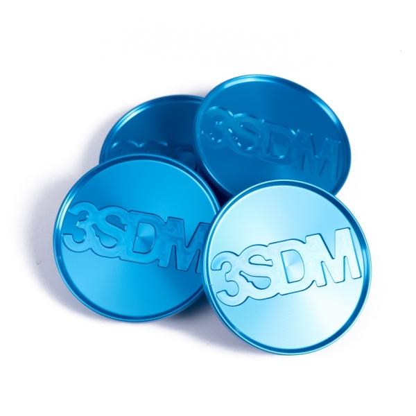 3SDM CNC centerkapsel blå