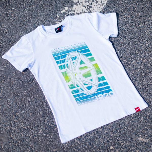 Japan Racing - T-Shirt JR20 Hvid (S) Mænd