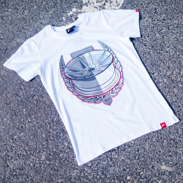 Japan Racing - T-Shirt JR21 Hvid (S) Mænd