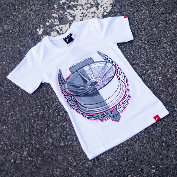 Japan Racing - T-Shirt JR21 Hvid (XS) Kvinder