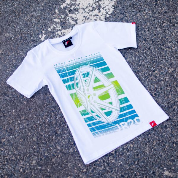 Japan Racing - T-Shirt JR20 Hvid (S) Kvinder