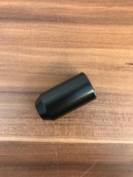 Tuner møtrik M12x1,5x37 ø20 kegle sort